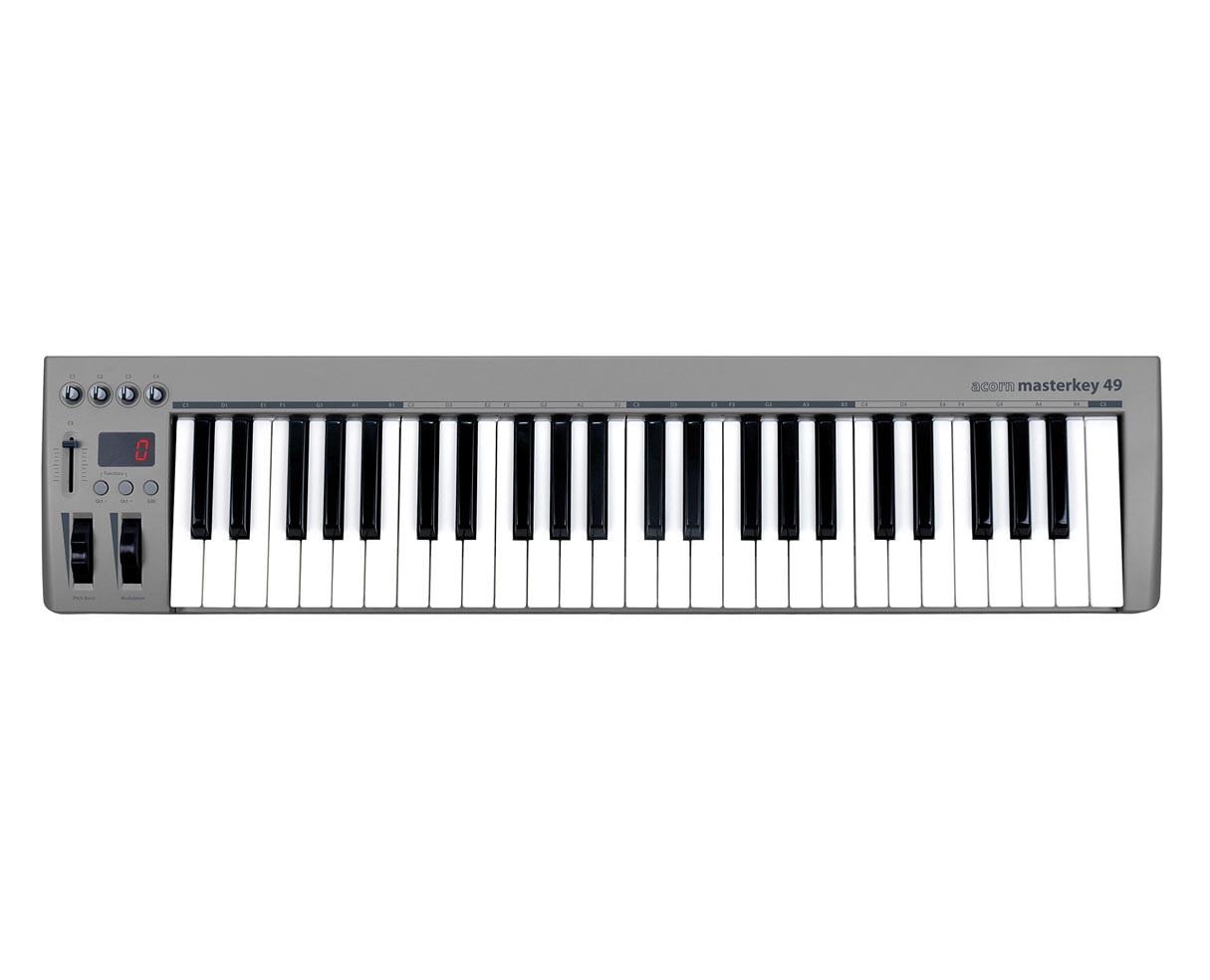 Acorn Masterkey 49 USB controller keyboard includes Presonus Studio One Artist