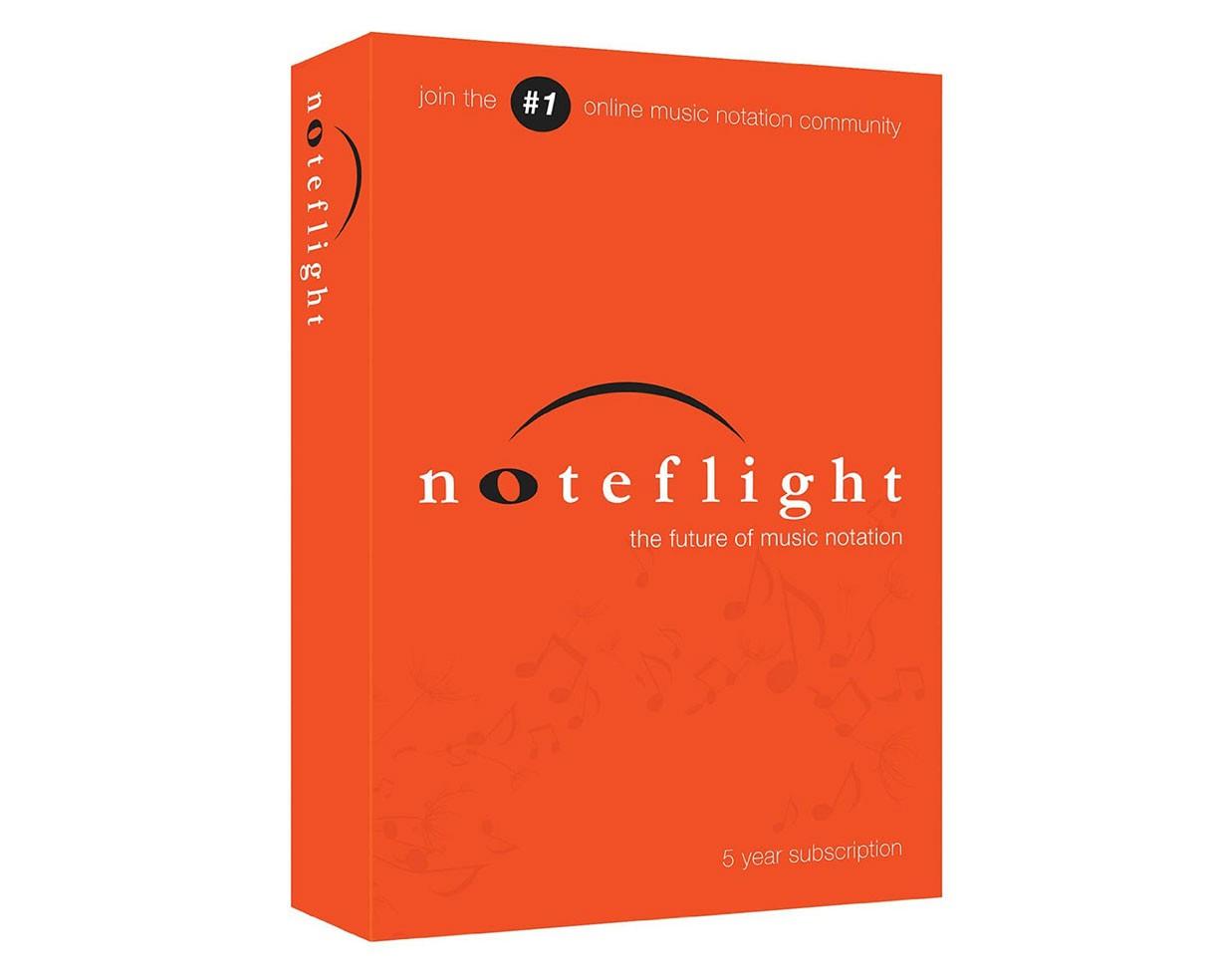 Noteflight 5-Year Subscription For Noteflight