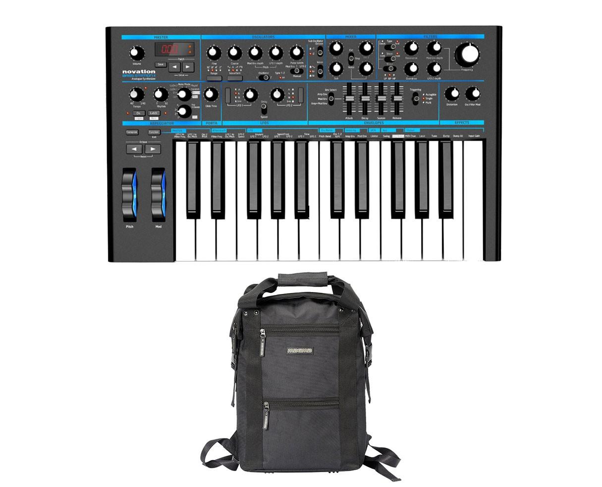 Novation Bass Station II Analog Synthesizer + Bag