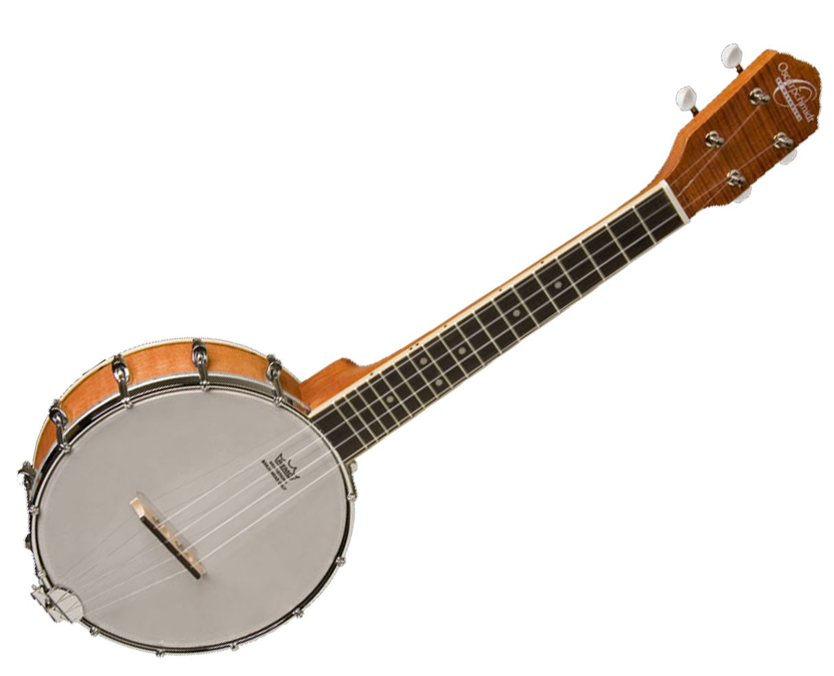Oscar Schmidt Uke Banjo Satin