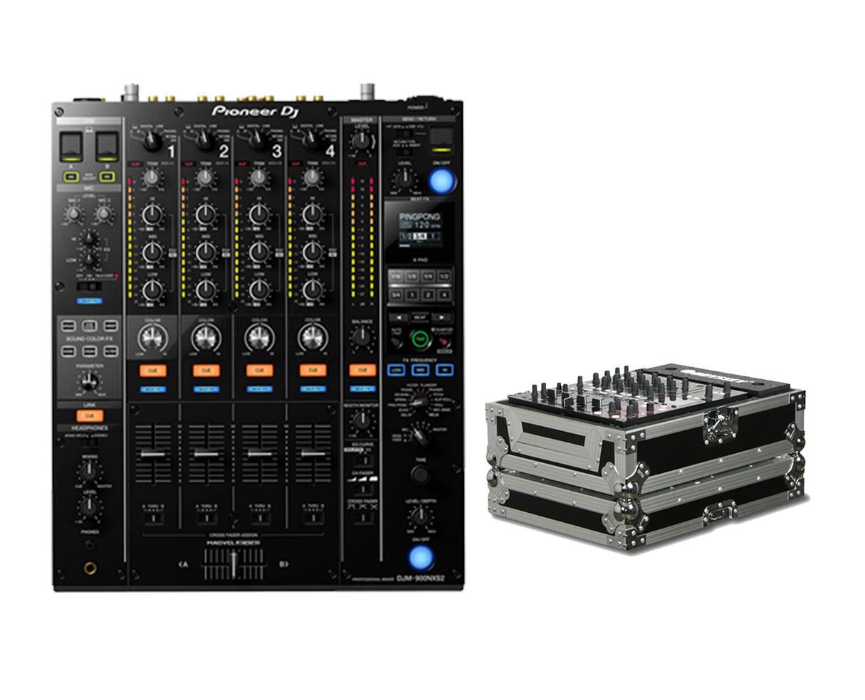 Pioneer DJM-900NXS2 + Odyssey Case