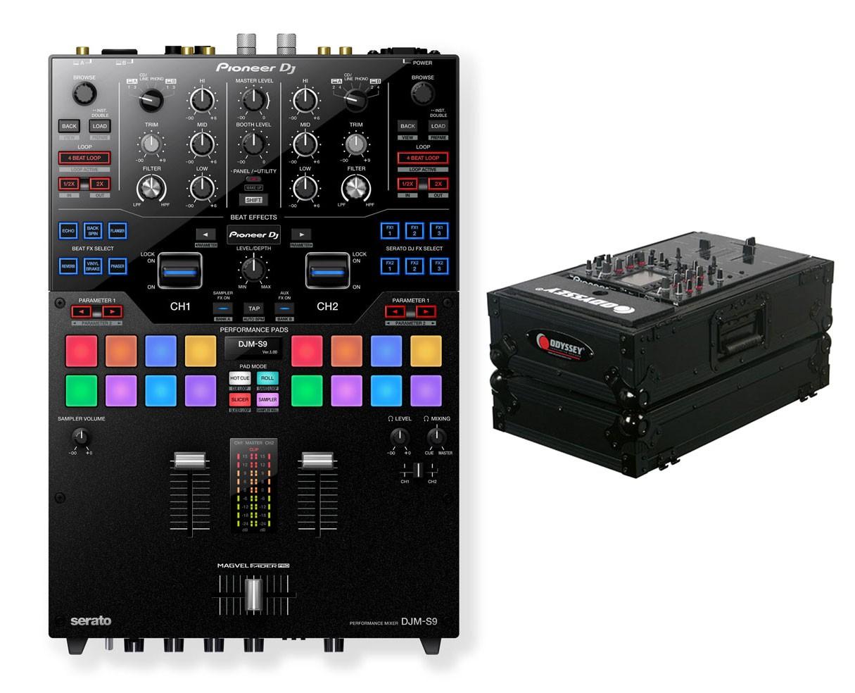Pioneer DJM-S9 + Odyssey Black Label Case