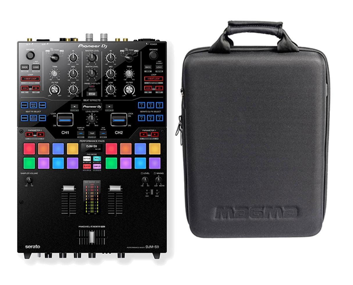 Pioneer DJM-S9 + Magma Case