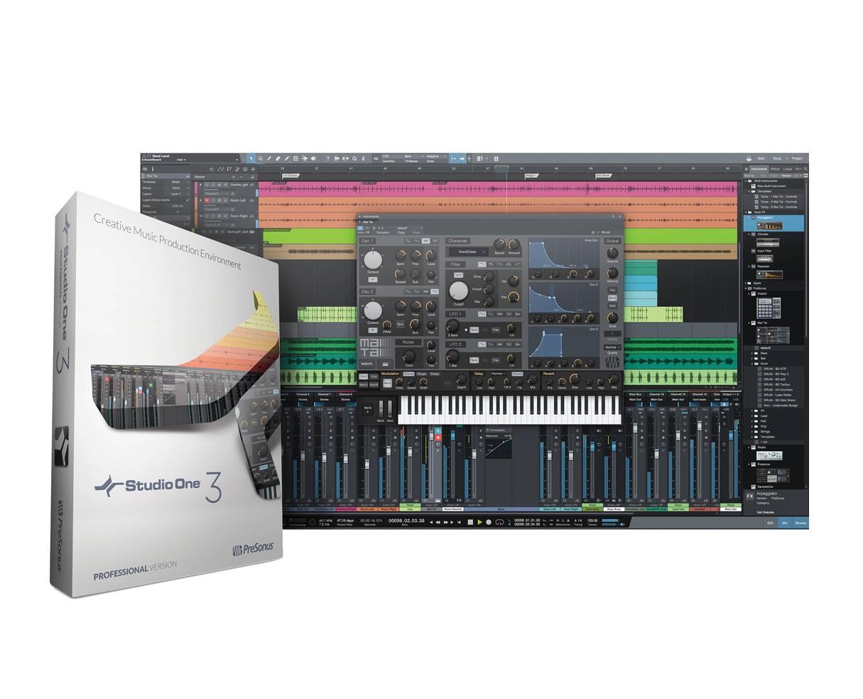 Presonus Studio One 3 Professional Crossgrade