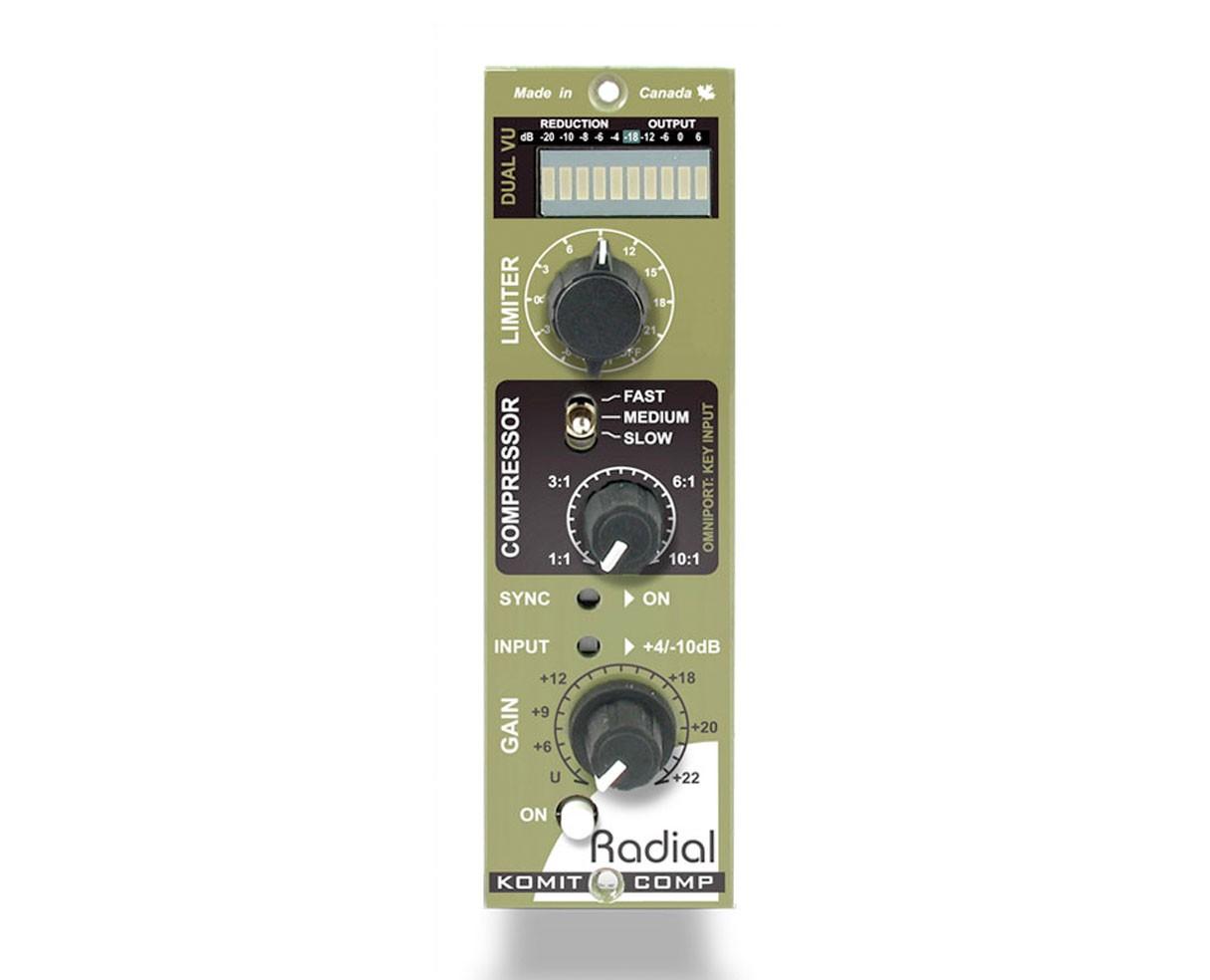 Radial Komit 500 Series Module Auto-Tracking Compressor Limiter