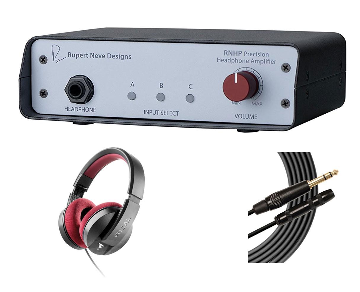 Rupert Neve Designs RNHP + Focal Listen Pro + Mogami Extension