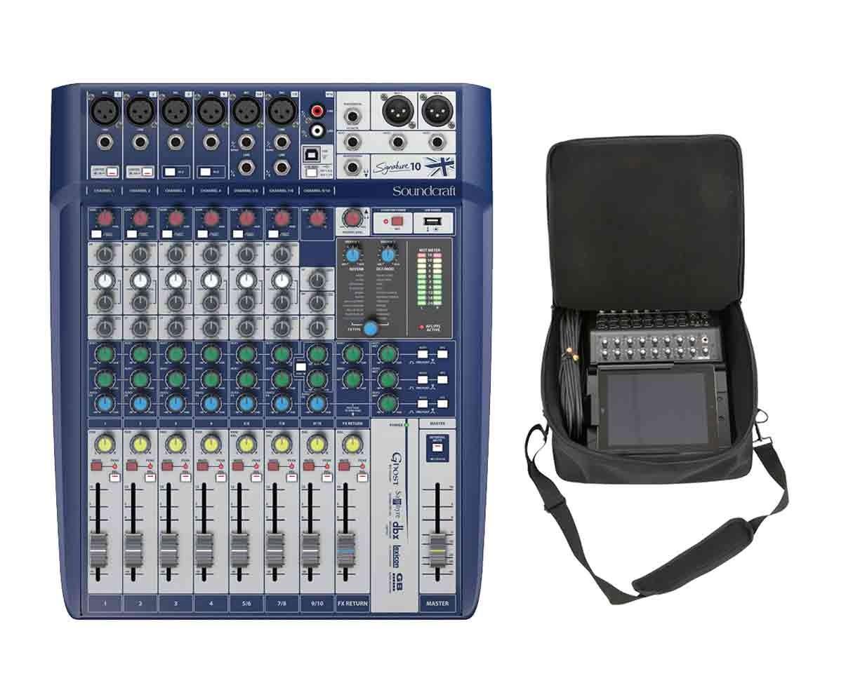 Soundcraft Signature 10 + SKB Mixer Bag