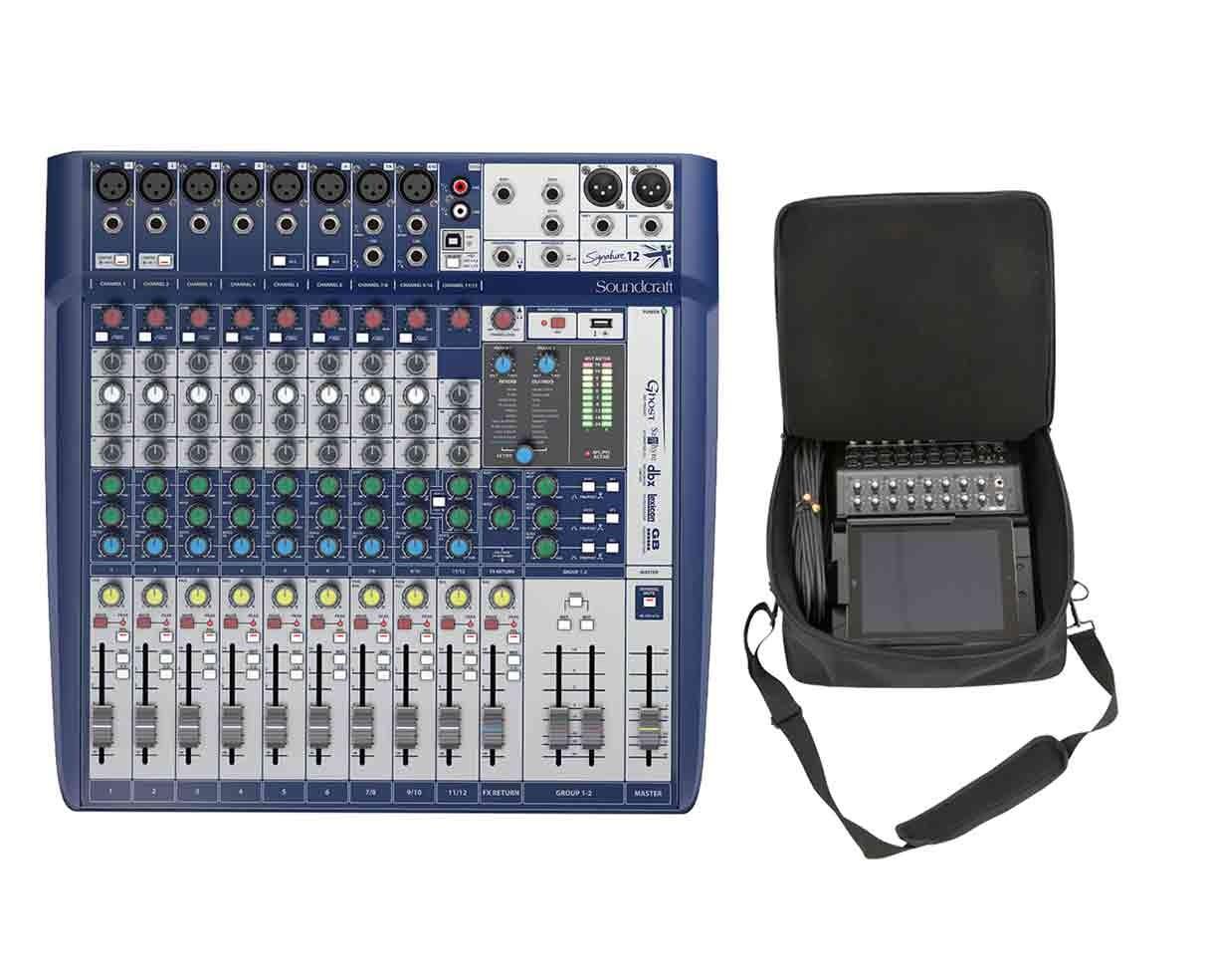 Soundcraft Signature 12 + SKB Mixer Bag
