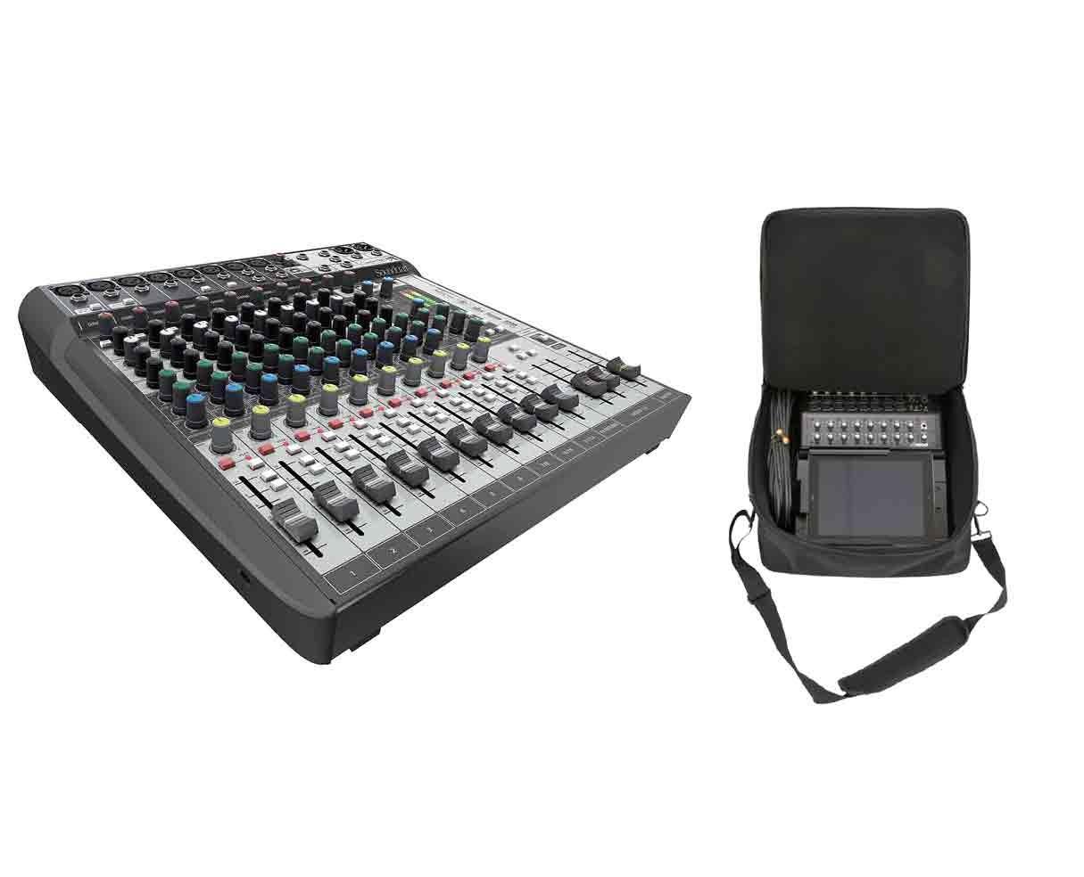 Soundcraft Signature 12 MTK + SKB Mixer Bag