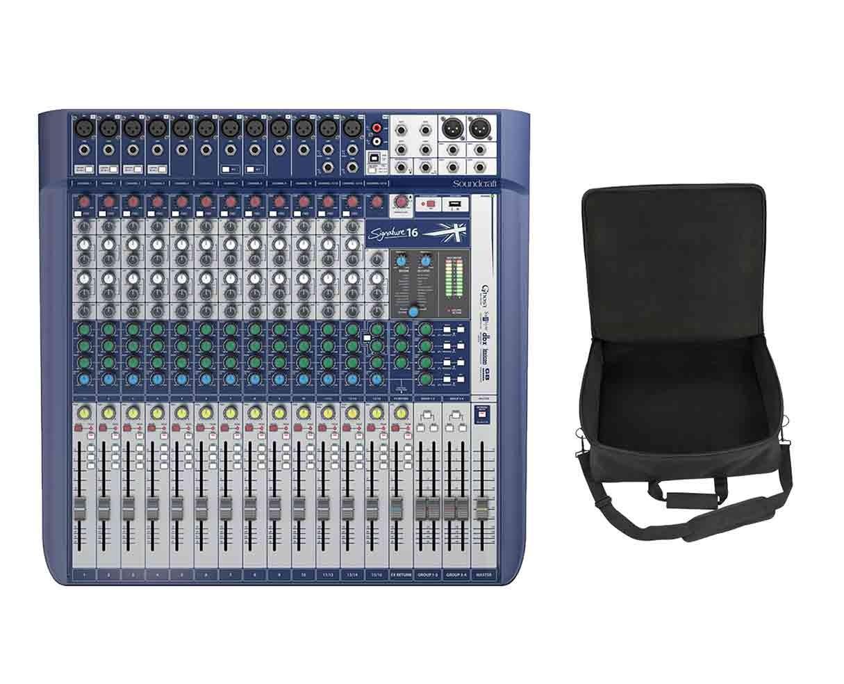 Soundcraft Signature 16 + SKB Mixer Bag