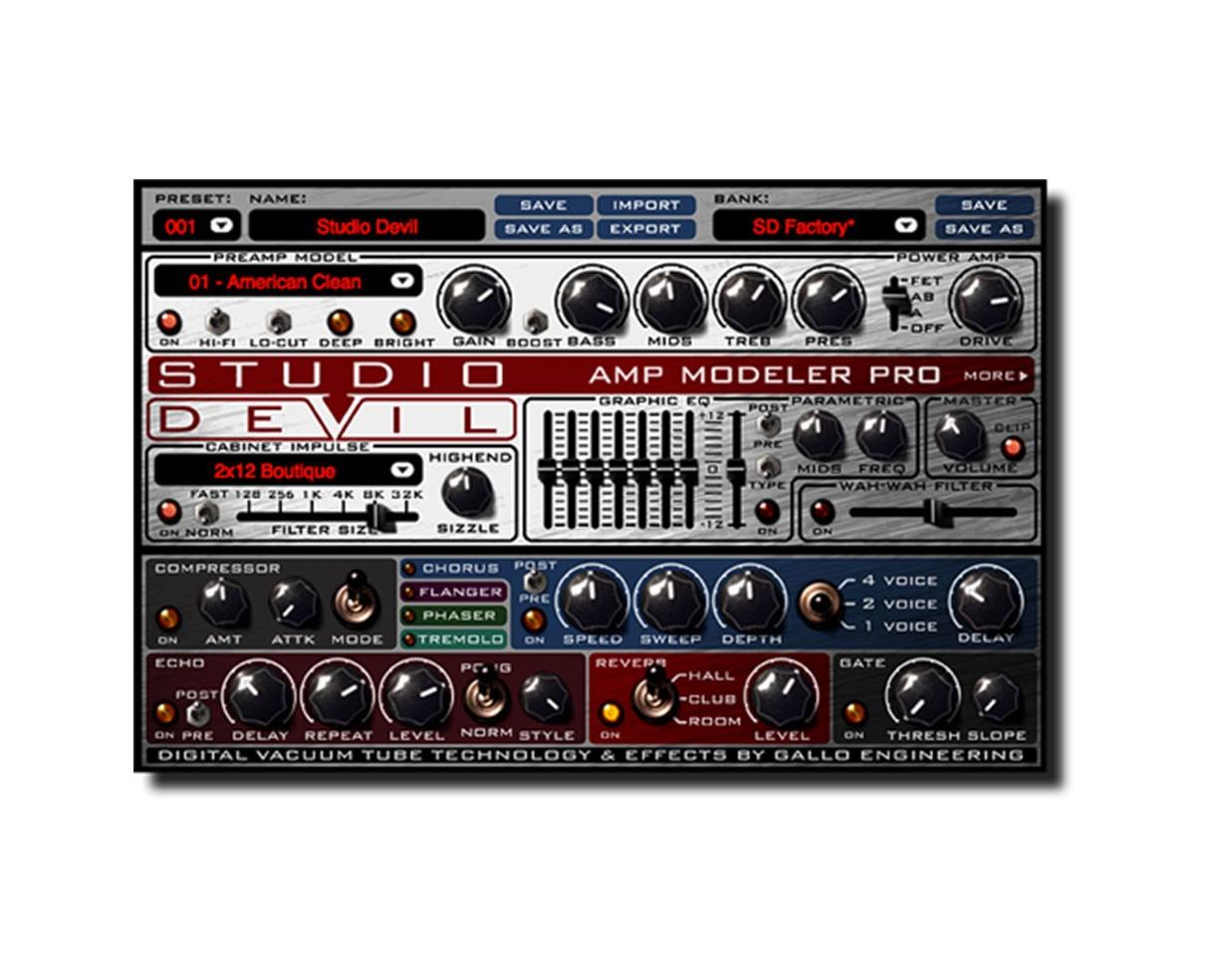 Studio Devil AMP Modeler Pro