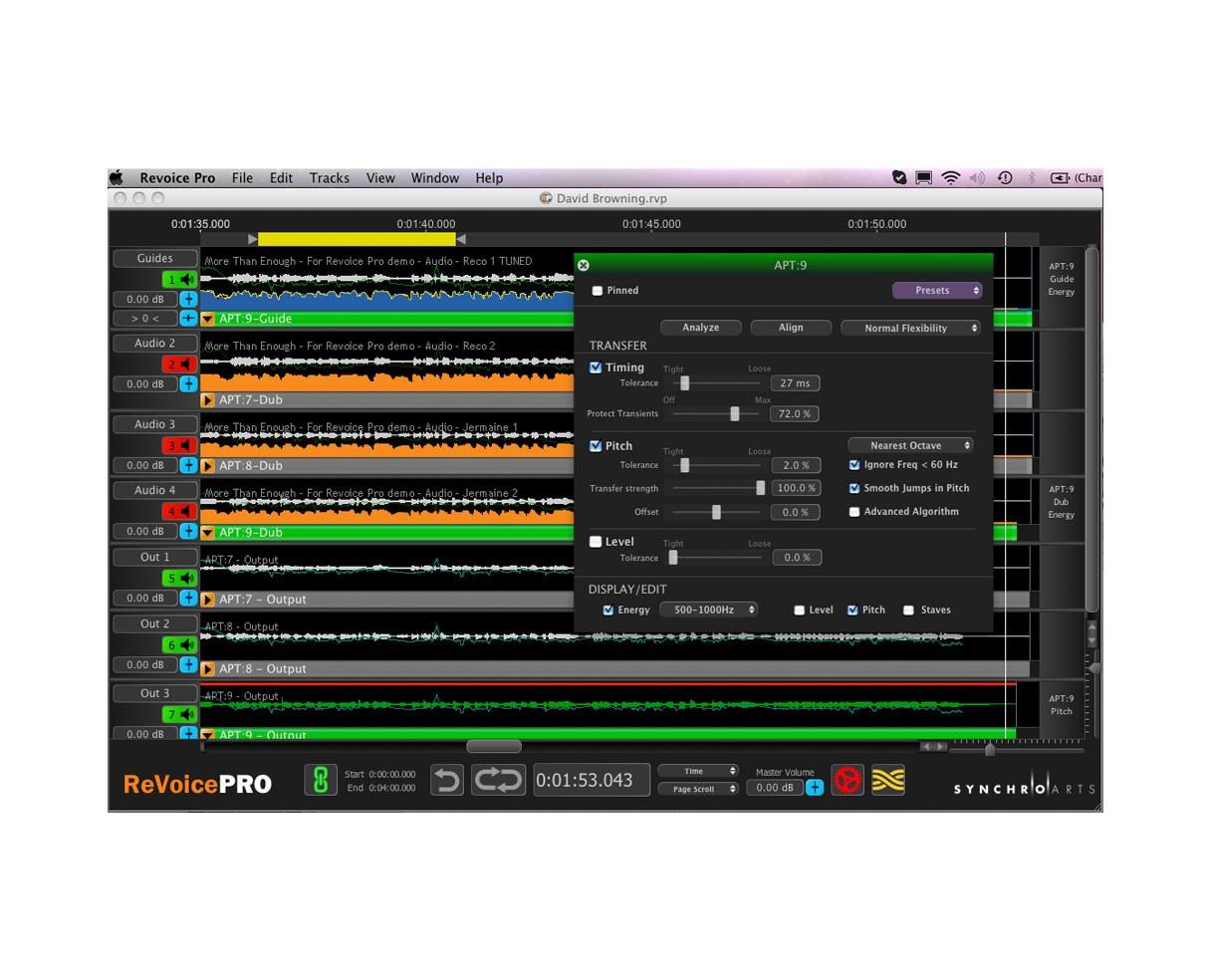 Synchro Arts Revoice Pro V1