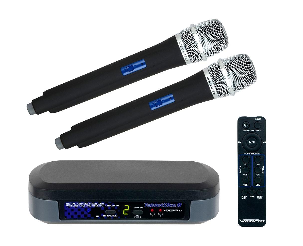 VocoPro TabletOke II Digital Karaoke Mixer