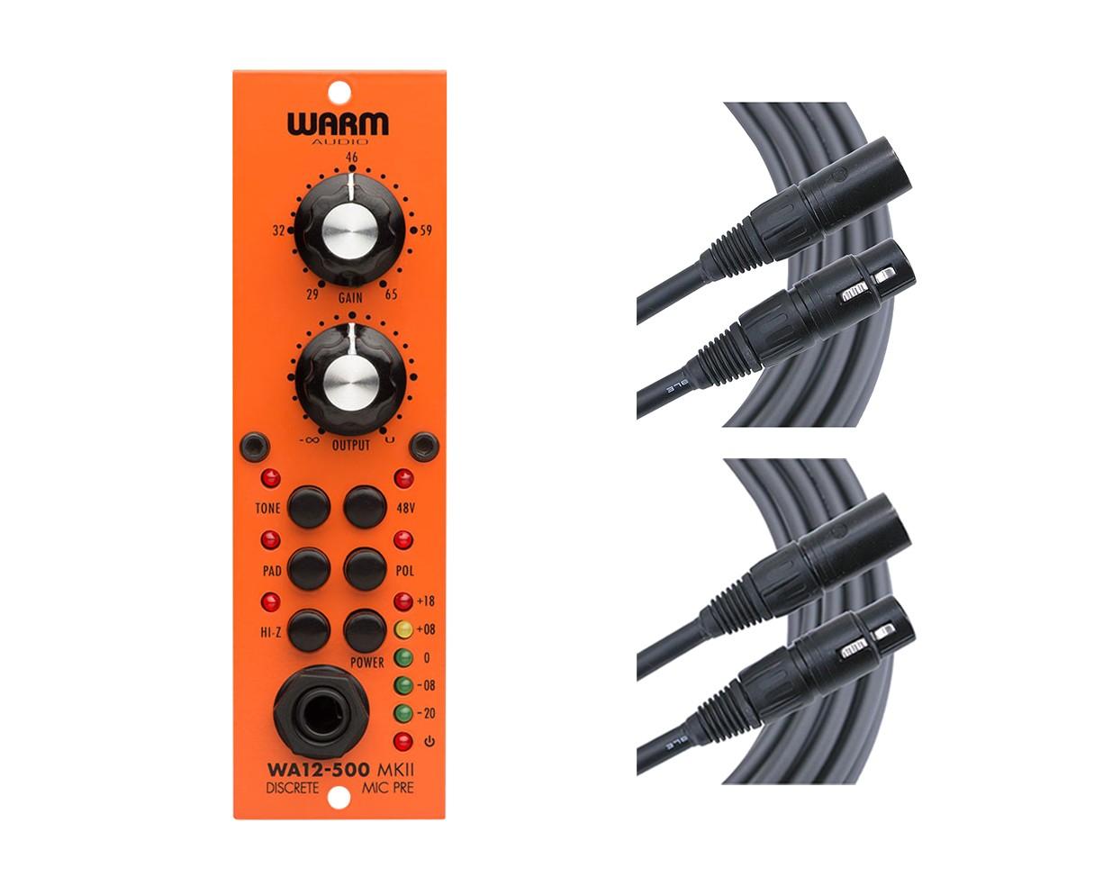 Warm Audio WA12-500 MkII + Mogami Cables