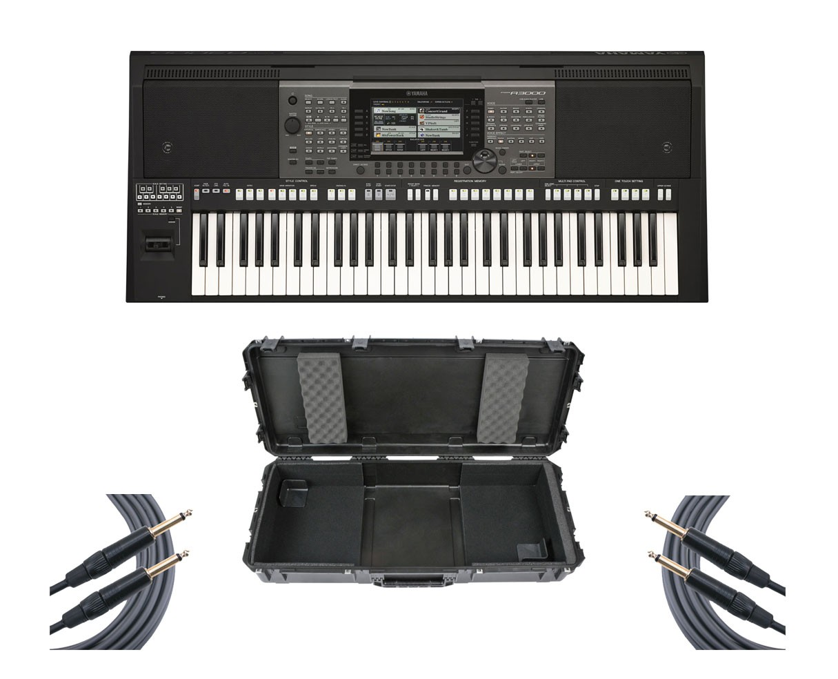 Yamaha PSR-A3000 + SKB Case + Mogami Cables