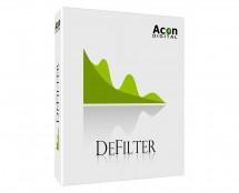 Acon Digital DeFilter Even Tonal Imbalance, Resonant Peaks/Dip (ProAudioStar.com)