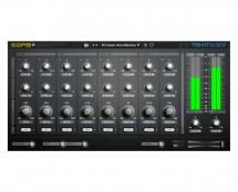TEK-IT Audio EQP8 2 A Fully Parametric 8 Band Equalizer (ProAudioStar.com)