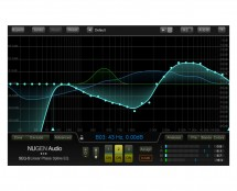 Nugen Audio SEQ-S Linear-Phase Spline EQ (ProAudioStar.com)