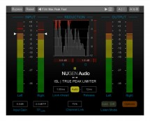 Nugen Audio ISL 2ST Extension True-Peak Limiter Stereo W DSP Ext F HDX (Proaudiostar.com)