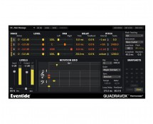 Eventide Quadravox 4 Voice Diatonic Ptchshft, Pan, Lvl, Dly (Proaudiostar.com)