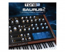 Tone 2 Saurus 2 Affordable Virtual analog synthesizer (Proaudiostar.com)