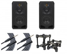 2x ADAM S3V + IsoAcoustics + Mogami Cables