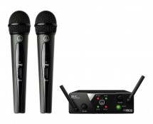 AKG WMS40 Mini Dual Vocal Set (US25B/D)