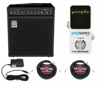 Ampeg BA-112v2 + TC Electronic Polytune Mini 2 + Power Supply + Cables