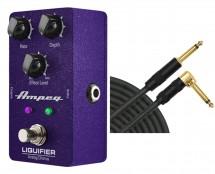 Ampeg Liquifier Bass Chorus + Mogami Cable