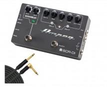 Ampeg SCR-DI Scrambler DI + Mogami Cable