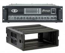 Ampeg SVT4-Pro + SKB 1SKB-R4U Rack Case