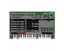 SugarBytes Artillery 2 Trigger Effects from MIDI Keyboard
