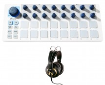 Arturia Beatstep + AKG K 240 Studio