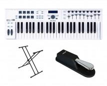 Arturia Keylab 49 Essential + Sustain Pedal + Keyboard Stand