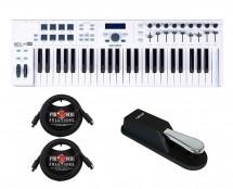 Arturia Keylab 49 Essential + Sustain Pedal + MIDI Cables