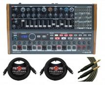 Arturia Minibrute 2S + Mogami Instrument Cable + MIDI Cables
