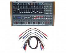 Arturia Minibrute 2S + 8 Pack 3.5mm Mono Patch Cables