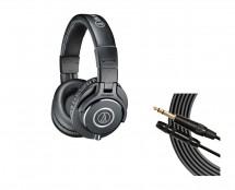 Audio-Technica ATH-M40X + Mogami Headphone Extension Cable