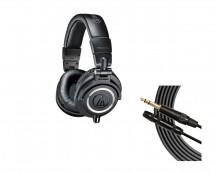 Audio-Technica ATH-M50X + Mogami Headphone Extension Cable