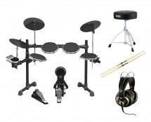 Behringer XD80 Electronic Drum kit + AKG K 240 Studio + Throne + Sticks