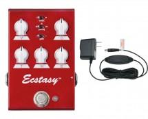 Bogner Ecstasy Red Mini Overdrive + Power Supply