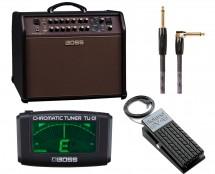 Boss ACS-PRO + BIC-15A Cable + TU-01 + Roland EV-5