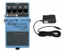 Boss CEB-3 Bass Chorus + Power Supply
