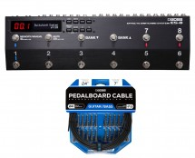 Boss ES-8 Switching System + Boss BCK-24 Pedal Board Cable Kit