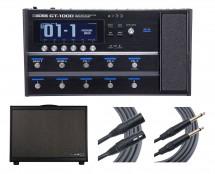 Boss GT-1000 + Line 6 PowerCab 112 + Mogami Cables