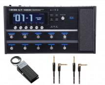 Boss GT-1000 + Roland EV-5 + Cables