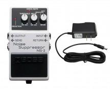 Boss NS-2 Noise Suppressor + Power Supply