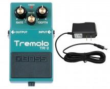 Boss TR-2 Tremolo + Power Supply