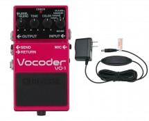 Boss VO-1 Vocoder Pedal + Roland PSA-120S Power Supply