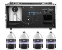 CHAUVET Professional AMHAZE STADIUM + 4x Haze Fluid